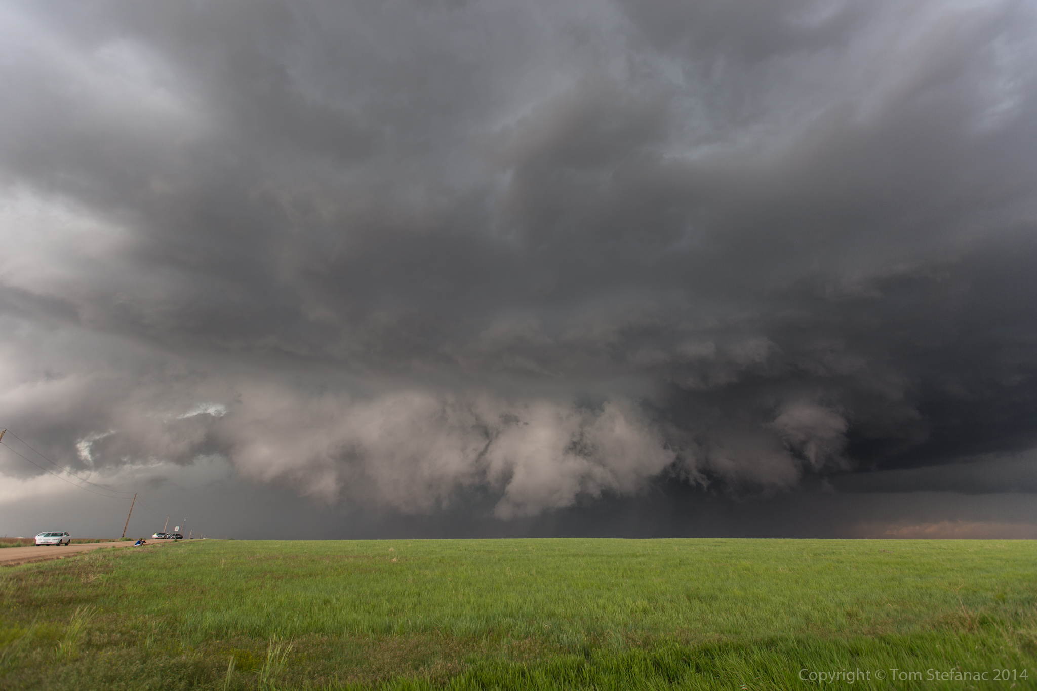 Ground Hugging Wall Cloud