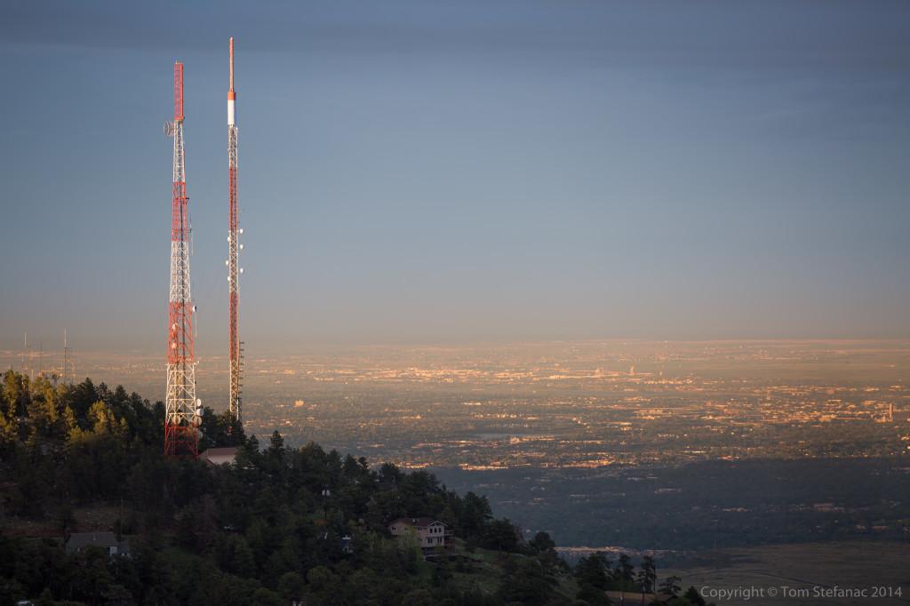 Radio Towers - Golden, CO