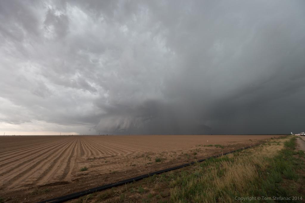 Inflow Feature Hidden By Rain - Big Spring, TX
