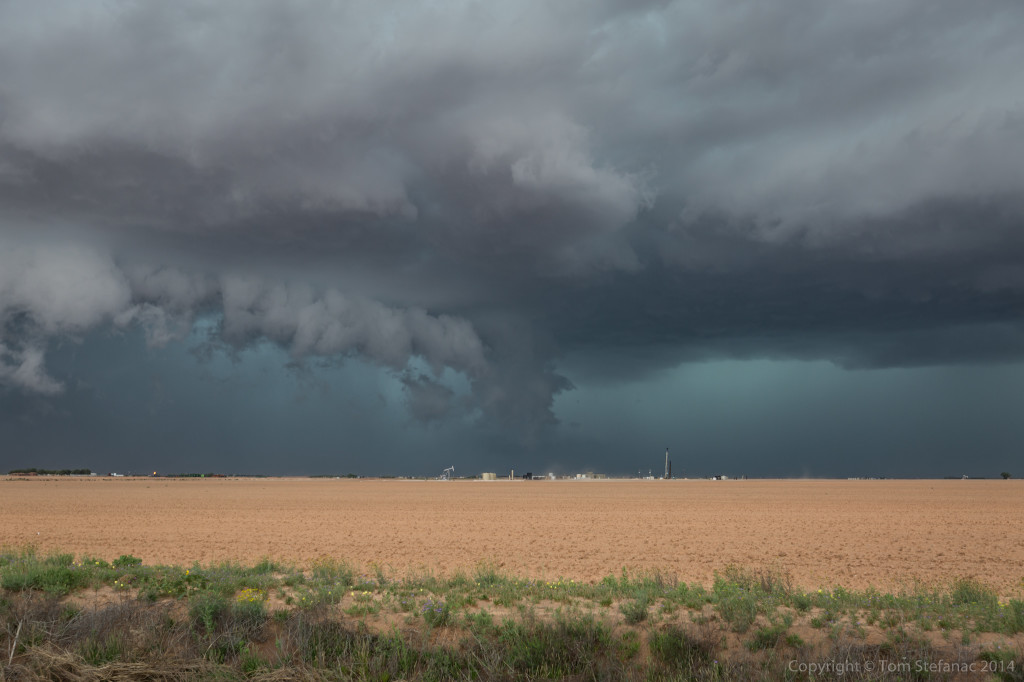 Blue Core + Tail Cloud - Big Spring, TX