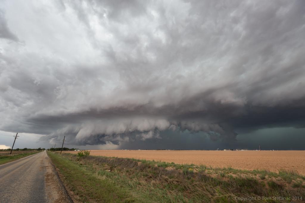Storm Coming - Big Spring, TX