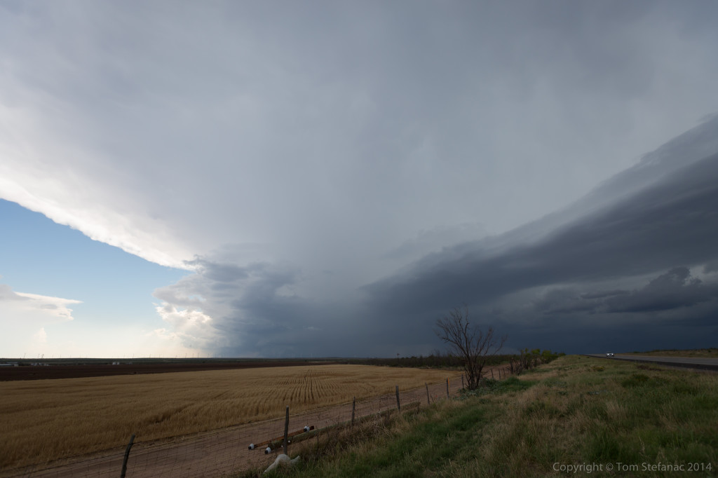 Very Distant Supercell Storm - Sterling, Co. TX