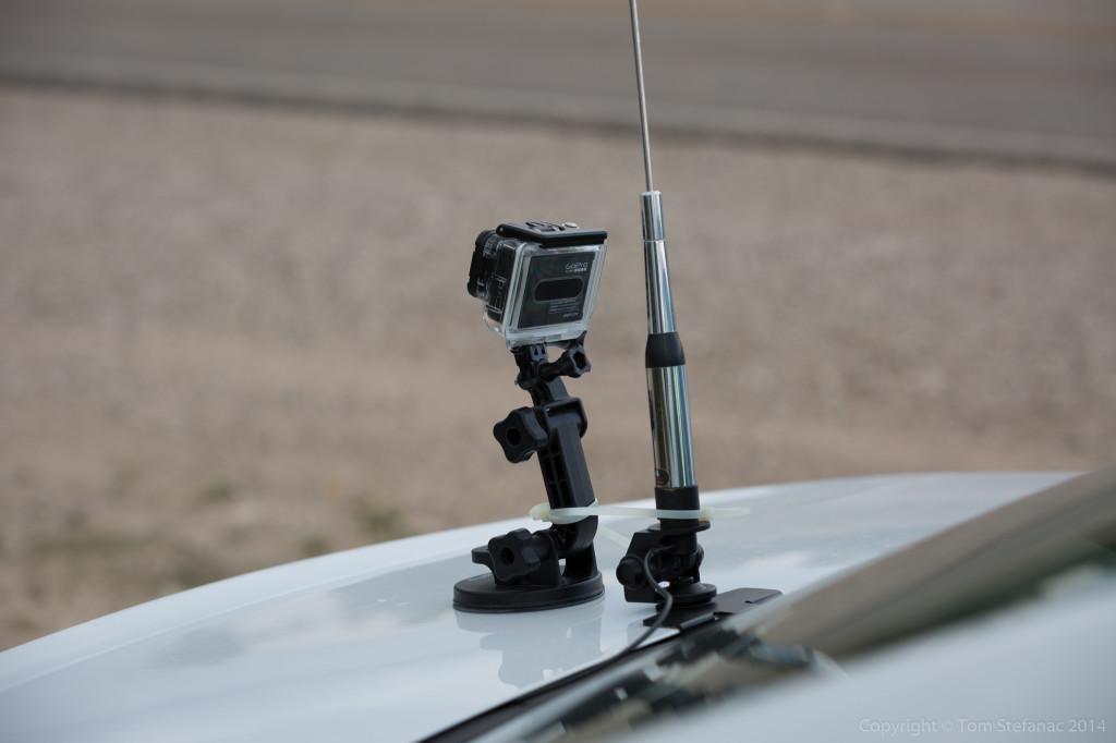 GoPro + Ham Antenna - Sterling, Co. TX