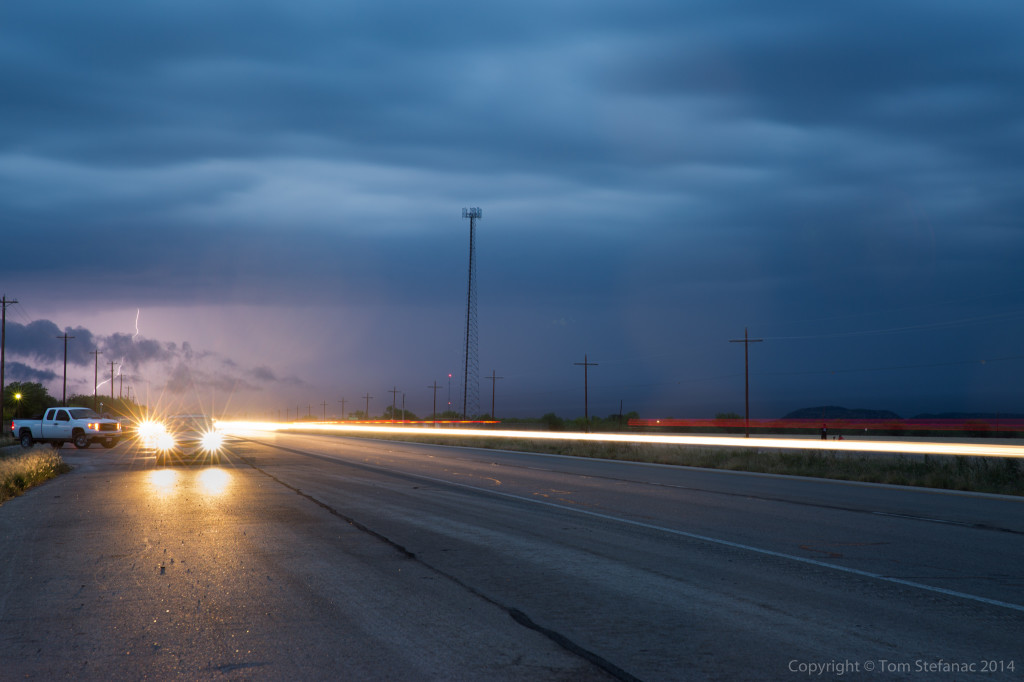 Distant Lightning - Tom Green Co. TX