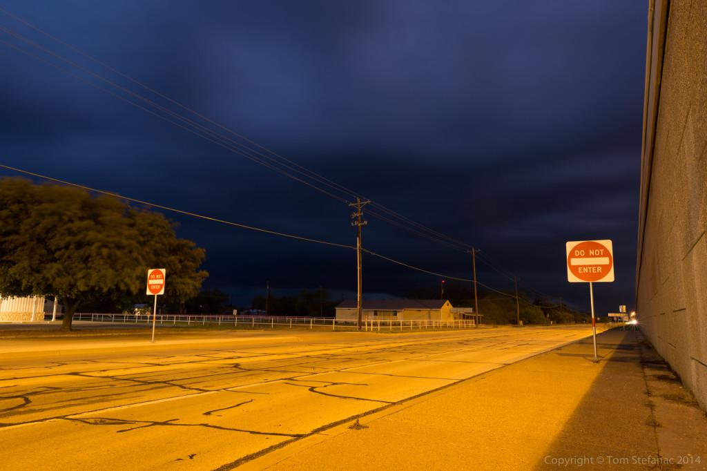 Storm Approaching - Grape Creek, TX