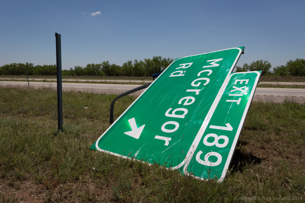 Tornado Damage - Howard Co. TX