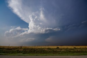 Classic Oklahoma Dryline Supercell