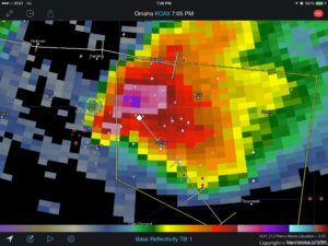 Nebraska Supercell - Radar Signature