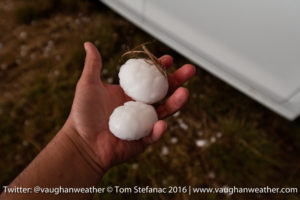 Big Hail South of Masterson TX