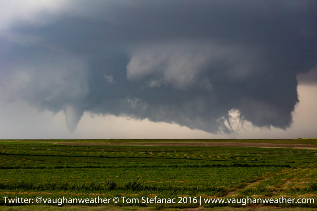 Three Tornadoes - Dodge City Kansas