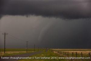Felt Oklahoma Tornado