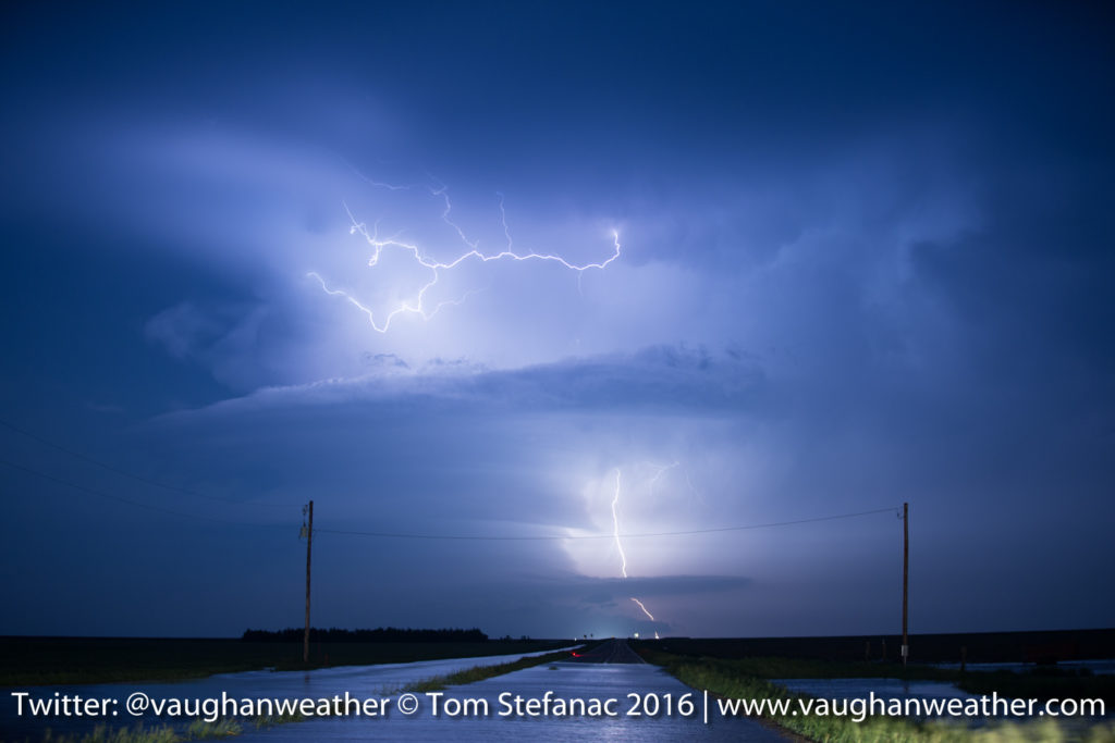Supercell Lightning & Flash Flooding